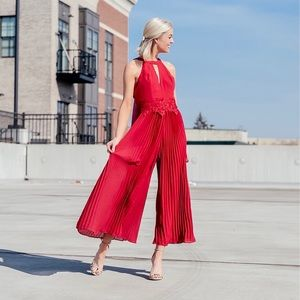 XS formal Adelyn Rae jumpsuit NWT